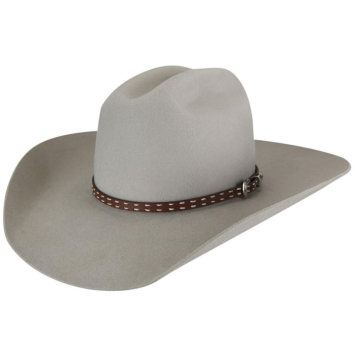 Stampede 2X Quality Wool Felt White hat