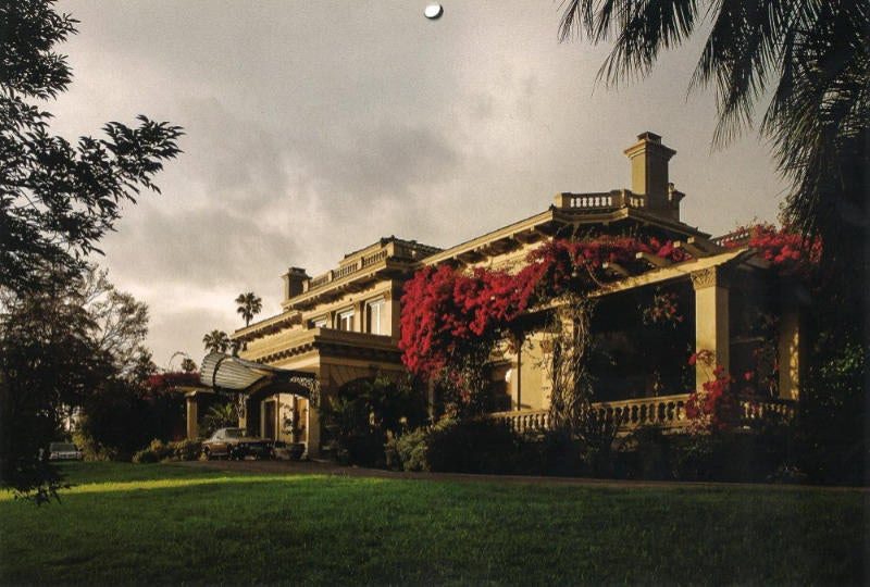 The Milbank Mansion, outside front view