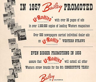 Bailey Promotions 1957