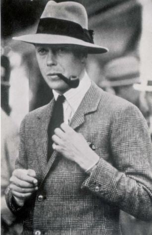 Edward, Prince of Wales in a fedora