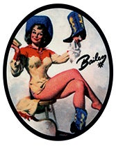 Bailey Western Releases their Pin- Up Girls Series